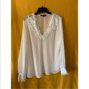 Beautiful Off White Blouse